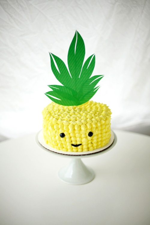 pineapple-head-cake